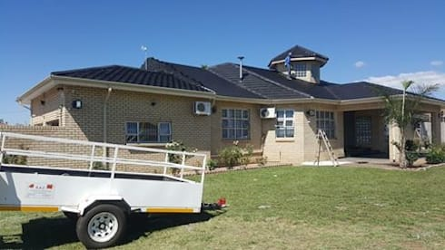Complete roof rebuild:   by BAC PAINTERS AND RENOVATORS