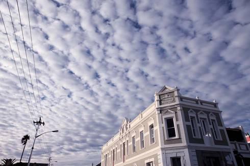 Street facade:  Exhibition centres by Till Manecke:Architect