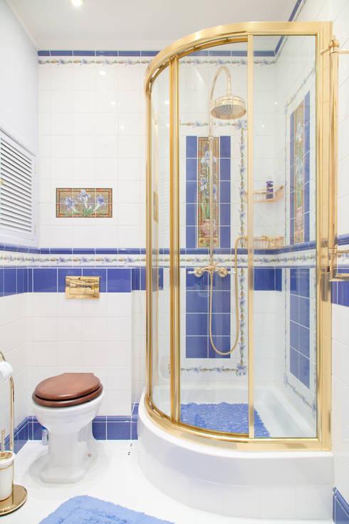 Измайловский: Ванные комнаты в . Автор – Pegasova design