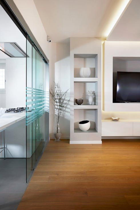 Livings de estilo moderno por Gruppo Castaldi | Roma