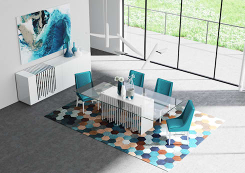 RARUS: Sala de jantar  por Aparattus Design