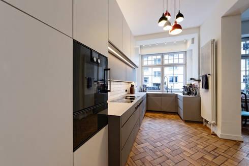 Make space moderne küche von klocke möbelwerkstätte gmbh