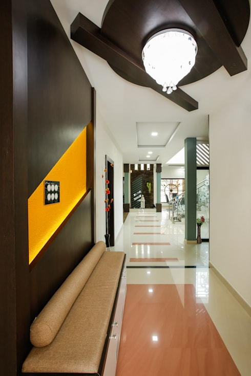 A Young & Youthful Design:  Corridor & hallway by Premdas Krishna