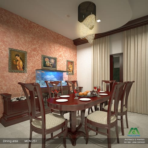 Timeless Beauty… : classic Dining room by Premdas Krishna