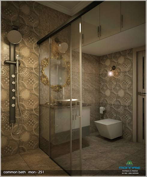Timeless Beauty… : classic Bathroom by Premdas Krishna