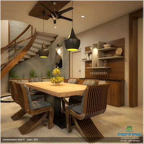Foliage Beauty...: modern Dining room by Premdas Krishna