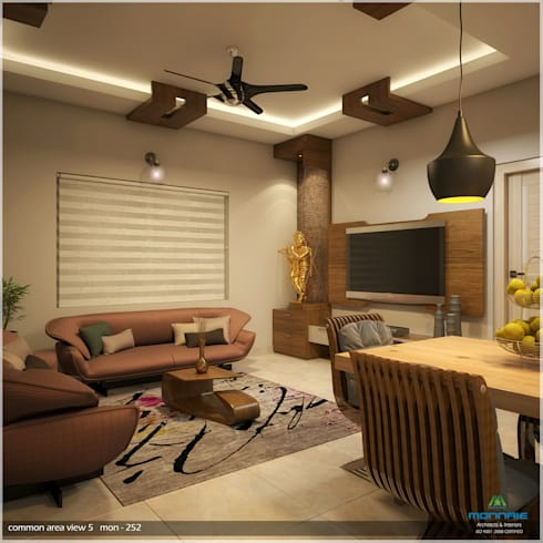 Foliage Beauty… : modern Living room by Premdas Krishna