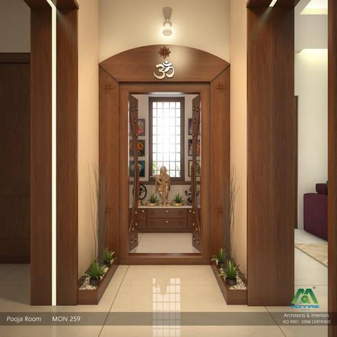 A Class & Royal Look:  Corridor & hallway by Premdas Krishna