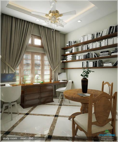 Grand & Striking:  Living room by Premdas Krishna
