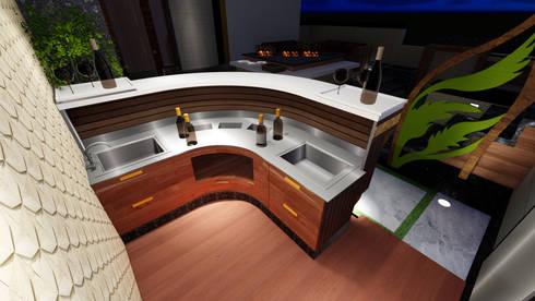 Outdoor Terrace Bar Designers & Manufacturers :  Terrace by Studio Machaan