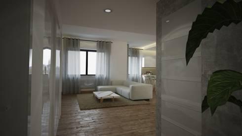 Interiorismo apartamento barcelona por toolboxstudio homify - Diseno interior barcelona ...