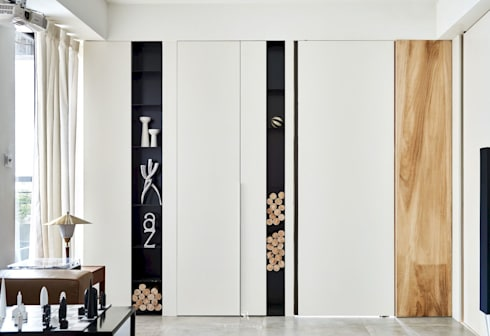小.曲折 Anti-Sinuous:  窗 by 理絲室內設計有限公司 Ris Interior Design Co., Ltd.