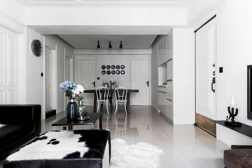 皓慕.Home Home Amore:  餐廳 by 理絲室內設計有限公司 Ris Interior Design Co., Ltd.