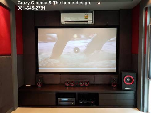ตกแต่งห้องดูหนังบ้านคุณ อมร ครับ:   by the home-design