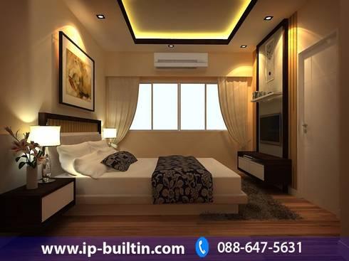 ตกแต่งภายใน ห้องนอนใหญ่:   by IP BUILT IN