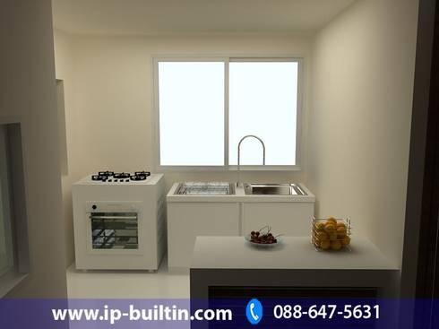 ตกแต่งภายใน  บ้าน มัณฑณา ห้องครัว:   by IP BUILT IN