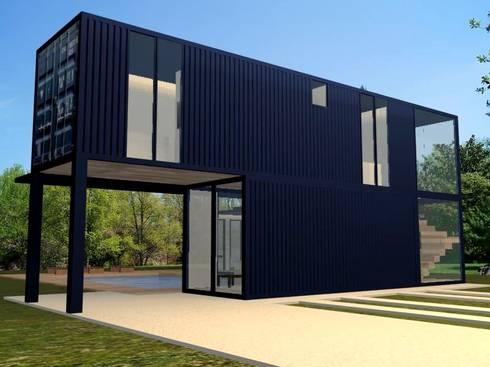 Projeto casa container por priscilla borges arquitetura - Casa container italia ...