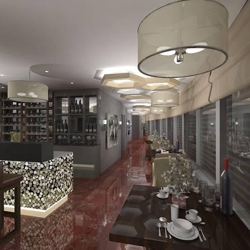 8Ba Restaurant:  Hotels by Gurooji Design