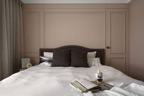 M.Maisonnette:  臥室 by 理絲室內設計有限公司 Ris Interior Design Co., Ltd.