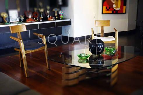 Silla Versilia Auxiliar de sala : Hogar de estilo  por SquareTop Design