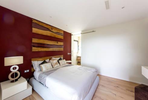 Restyling camera da letto con bagno en-suite by MBquadro Architetti ...
