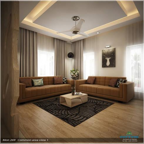 Traditional Treat: classic Living room by Premdas Krishna