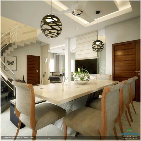 Traditional Treat: classic Dining room by Premdas Krishna