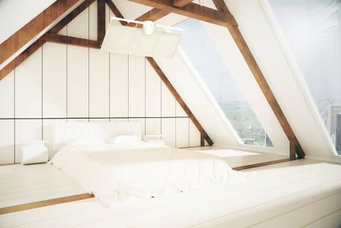 The Sensu Punkah Deckenfächer: moderne Schlafzimmer von Oliver Kessler Design GmbH