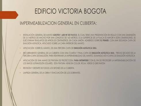 Especificaciones Proyecto:  de estilo  por Erick Becerra Arquitecto