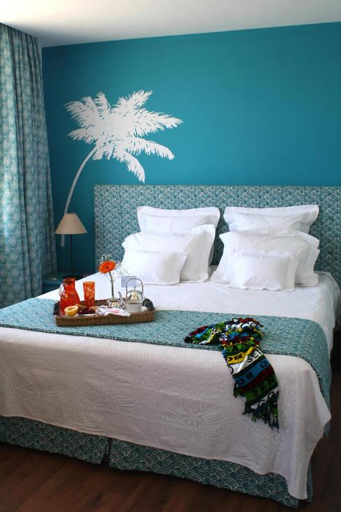 Hoteles de estilo  por Jean de Just design de interiores