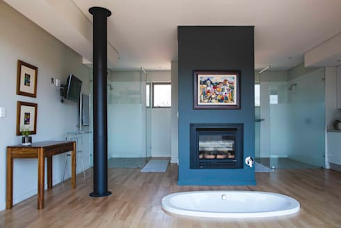 House Swart (Cameron Court Unit 1): modern Bathroom by Swart & Associates Architects
