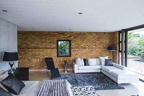 House Hoffman: modern Bedroom by Swart & Associates Architects