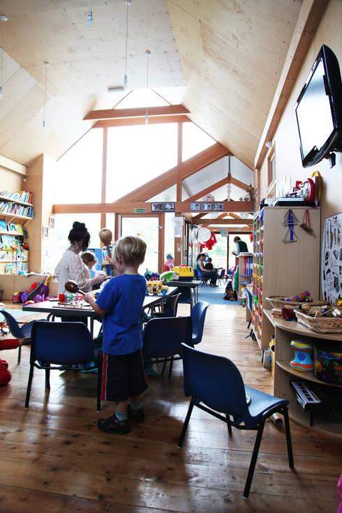 Boscastle Pre-school:  Schools by Innes Architects