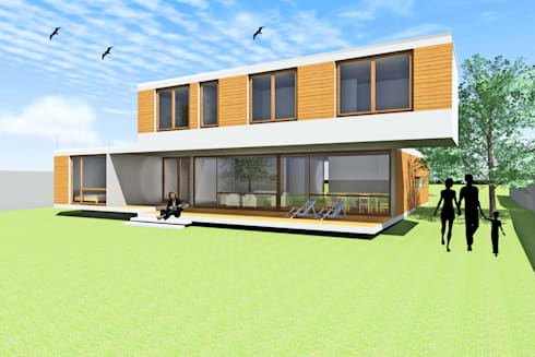 CASA PIRQUE: Casas de estilo moderno por Arc Arquitectura