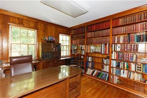 BEFORE Photo - DC Design House: colonial Study/office by Lorna Gross Interior Design