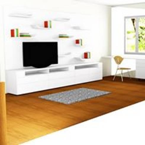 RENDER ESTUDIO: Estudio de estilo  por ARENO Diseño de espacios