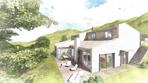 Casa unifamiliare in legno ad alto risparmio energetico di - Casa a risparmio energetico ...