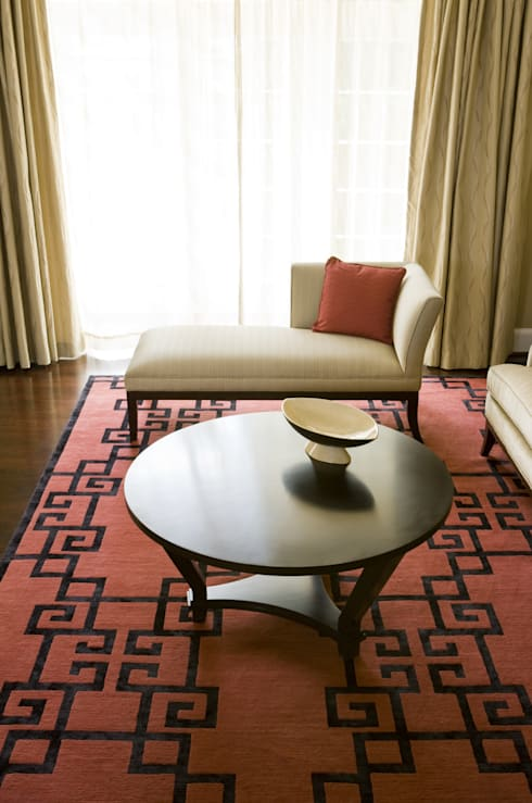 Shanghai Chic - Detail: asian Living room by Lorna Gross Interior Design