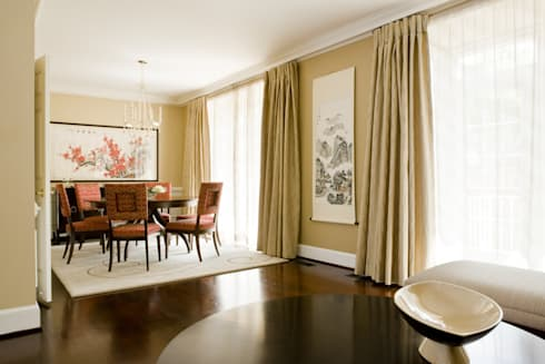 Shanghai Chic - Dining Room: asian Dining room by Lorna Gross Interior Design