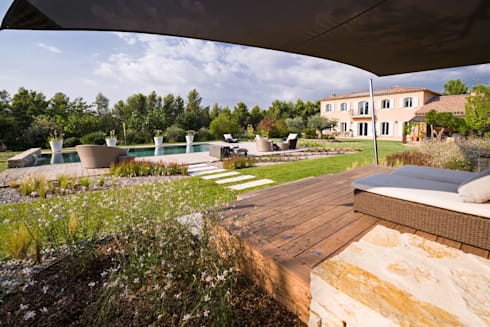 TRETS - jardin contemporain en Provence by Agence MORVANT ...