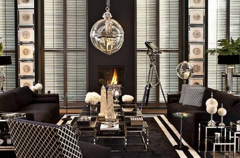 SALAS : Salas de estilo moderno por Conexo.