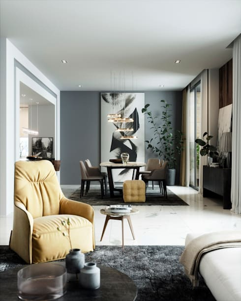 Living room by Accurate Curves