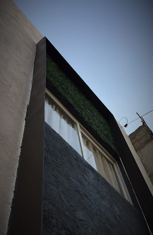 MINEROS 222: Casas de estilo moderno por H+R ARQUITECTOS