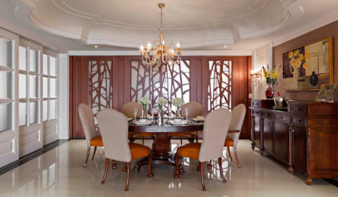 餐廳:  餐廳 by 漢品室內設計