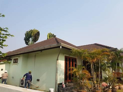 งานทาสีบ้าน Mr.ron… หางดง:   by conhouse chiangmai