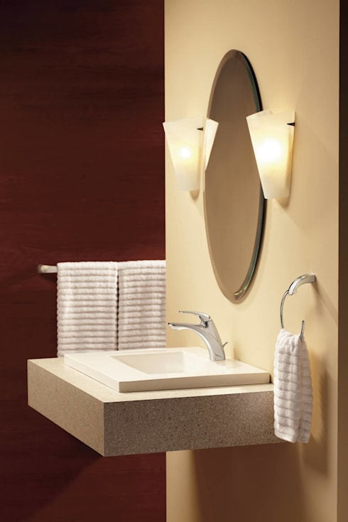 Baños de estilo  por VAP ARQUITECTOS