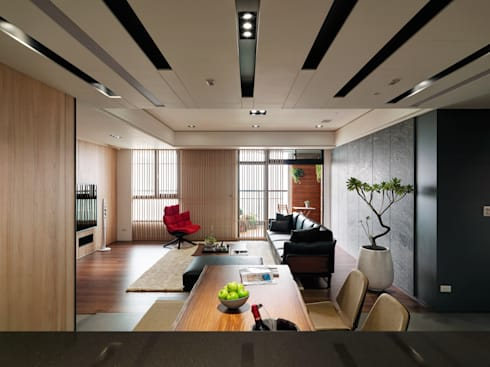 麗寶雙璽:  廚房 by 星葉室內裝修有限公司