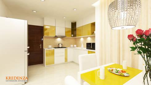 Kitchen: modern Kitchen by Kredenza Interior Studios