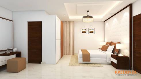 Kids Bedroom: modern Bedroom by Kredenza Interior Studios