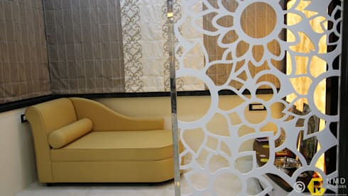 Dr Burte: asian Living room by NMD Interiors